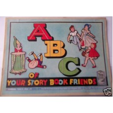 ABC Of Your Story Book Friend Raphael Tuck, scarce, circa 1930s, illustrated