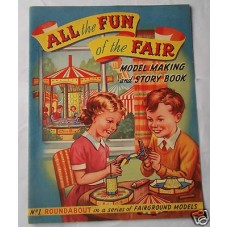 All The Fun Of The Fair Vintage Model Making and Story Book Circa 1940's Unused