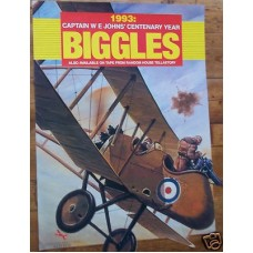 Biggles 1993 Centenary Year Poster, W.E. Johns, vg