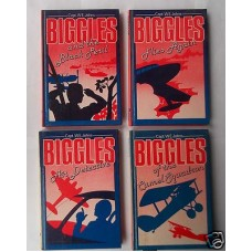 Biggles of the Camel Squadron/Flies Again/Black Peril/Air Detective Deans