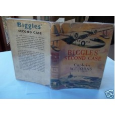 Biggles Second Case W.E. Johns First, with 1948 Dust Wrapper