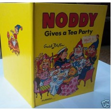 Noddy Gives A Tea Party, Enid Blyton, Punell file copy, 1977, vg