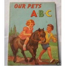 Our pets ABC vg, UNUSED circa 1940s