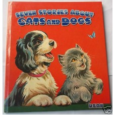 Seven Stories About Cats And Dogs, 1968, unused, hardback, near perfect