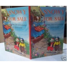 Snowy For Sale Rene Cloke, 1961, superb copy