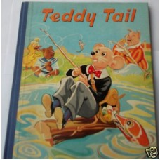 Teddy Tail Picture and Story Book, unused 1940s, fine copy