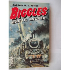 Biggles Gartil Angrep, W.E. Johns, Biggles Learns To Fly, Finnish paperback, as new