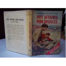 Huit Affaires Pour Biggles W.E. Johns French Biggles of the Special Air Police
