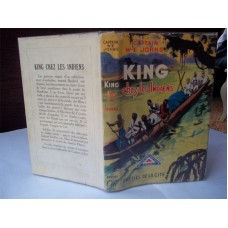 King Chez Les Indiens, Gimlet Off The Map French, W.E. Johns's own library, 1st d/w