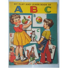 My Play and Learn Book Of ABC, 1964 UNUSED, near perfect
