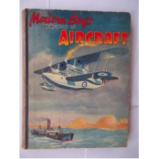 The Modern Boy's New Book of Aircraft, 1930s, lovely colour frontis