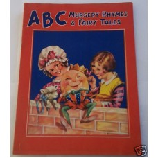ABC Nursery Rhymes & Fairy Tales Vintage Unused Circa 1940's