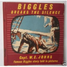 Biggles Breaks the Silence, W.E. Johns, Kay Strip Book, vg