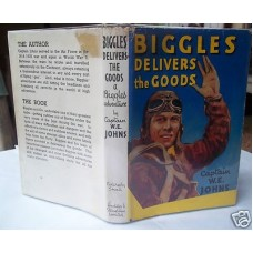 Biggles Delivers The Goods W.E. Johns, 1949 vg