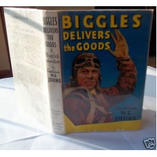 Biggles Delivers The Goods W.E. Johns, 1952, vg dust wrapper