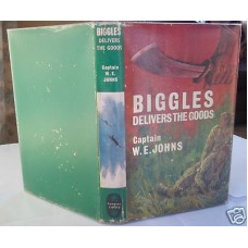 Biggles Delivers The Goods W.E. Johns, vg in vg dust wrapper