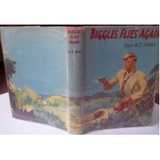 Biggles Flies Again Captain W.E. Johns Dust Wrapper