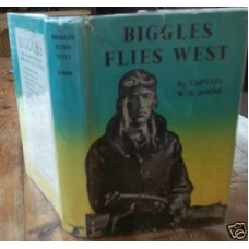 Biggles Flies West Reprint W.E. Johns FILE COPY, 1951 vg
