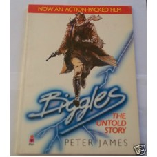 Biggles The Untold Story, W.E. Johns book of the film, signed copy, vg