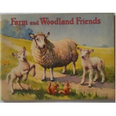 Farm and Woodland Friends Rabbits, Foxes, Doggies, as new scarce, 1940s, scarce