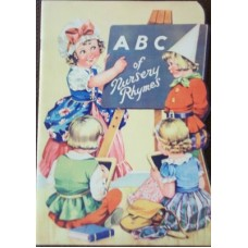 ABC of Nursery Rhymes Shaped Birn Brothers Circa 1940's, scarce as new