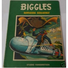 Biggles Barracuda Schaakmat No 15 1968, scarce vg, Dutch Comic book, W.E. Johns