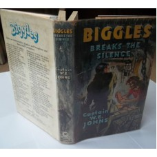Biggles Breaks the Silence 1959, very good Dust Wrapper