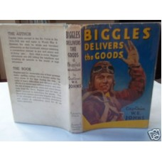 Biggles Delivers the Goods W.E. Johns, 1949 dust wrapper
