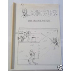 Biggles Het Laatste Konvooi Original Mock Up Front Cover & Text Dutch Comic