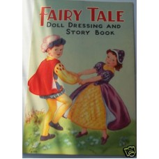 Fairy Tale Doll Dressing Book, unused ex publishers stock, last copy I have, fine