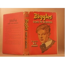 Biggles Goes To School (by W.E. Johns)