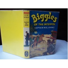 Biggles Of The Interpol (by W.E. Johns)