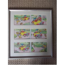 Noddy original Artwork by Doris White,(1940/50s)
