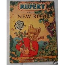 Rupert And The New Rose, Adventure Series no 9, vg