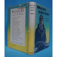 Biggles Flies West, by W.E. Johns, Oxford, rpt