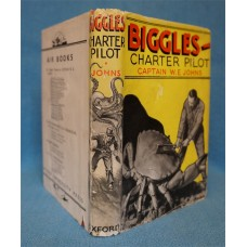 Biggles Charter Pilot, by W.E. Johns, 1st Original dust wrapper