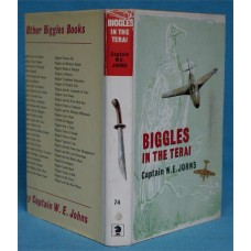 Biggles In The Terai, by W.E. Johns, 1st Original dust wrapper