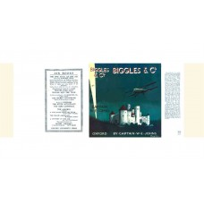 Biggles and Co by W.E. Johns printed replica dust wrapper