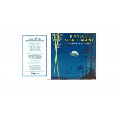 Biggles Secret Agent by W.E. Johns printed replica dust wrapper
