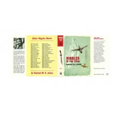 Biggles in the Terai by W.E. Johns printed replica dust wrapper