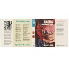 Biggles and the Noble Lord by W.E. Johns printed replica dust wrapper