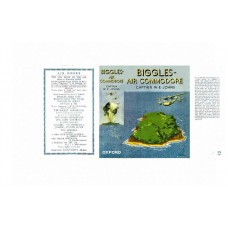 Biggles Air Commodore by W.E. Johns printed replica dust wrapper
