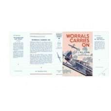 Worrals Carries on by W.E. Johns printed replica dust wrapper
