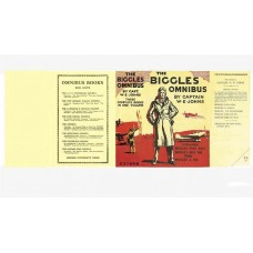 The Biggles Omnibus by W.E. Johns printed replica dust wrapper