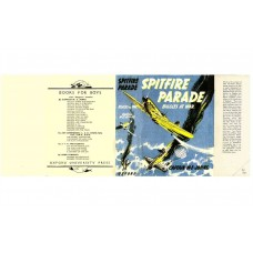 Spitfire Parade by W.E. Johns printed replica dust wrapper