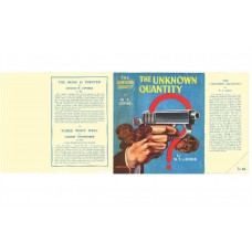 The Unknown Quantity by W.E. Johns printed replica dust wrapper