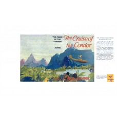 The Cruise of the Condor by W.E. Johns printed replica dust wrapper