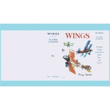 Wings: Flying Stories replica dust wrapper inc W.E. Johns