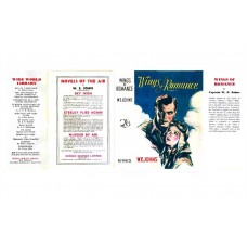 Wings of Romance by W.E. Johns printed replica dust wrapper