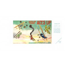 Aces Up replica dust wrapperCover/plates by W.E. Johns